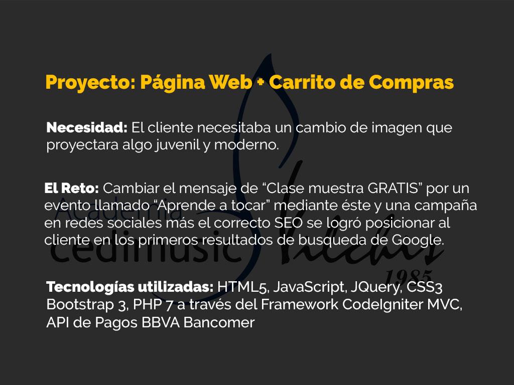 Proyecto de Página web con Tienda Virtual