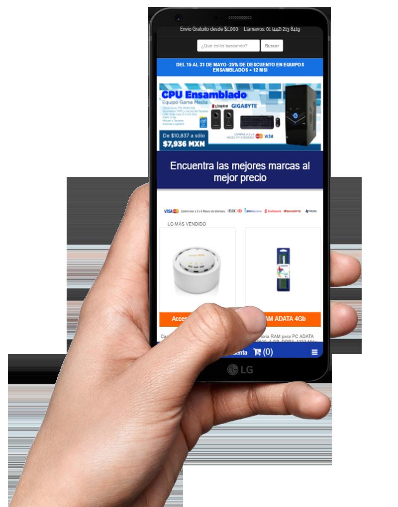 Carritos de compra compatibles con cualquier dispositivo
